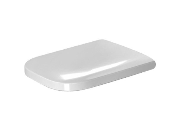 Plastic toilet seat with soft close HAPPY D.2 | Toilet seat with soft close by Duravit