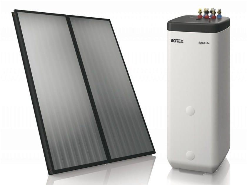 Solar heating system ROTEX SOLARIS by DAIKIN Heating Systems