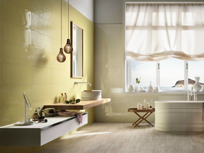 Double-fired ceramic wall tiles POETIQUE by Ceramica d'Imola