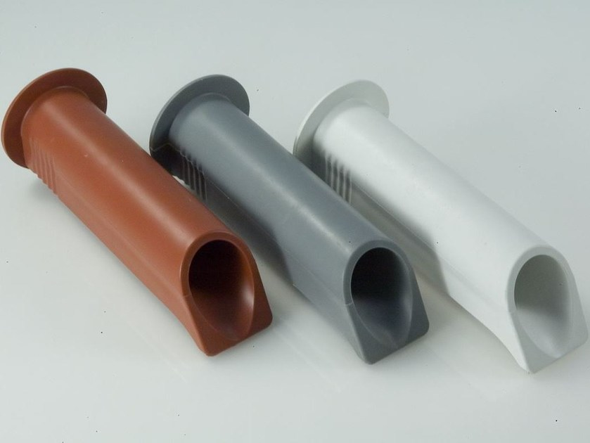 Gutter and downpipe Accessory for roof by Coprimuro