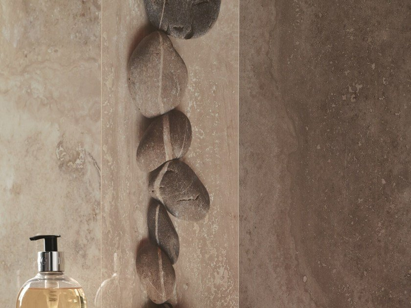Glazed stoneware wall tiles RAPOLANO by Revigrés