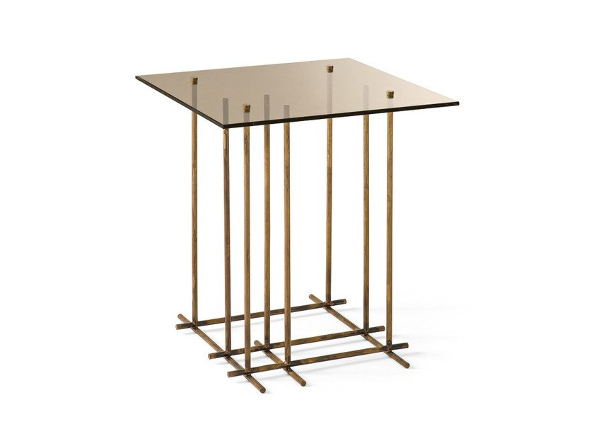 Square crystal coffee table TETRIS | Square coffee table by Gallotti&Radice