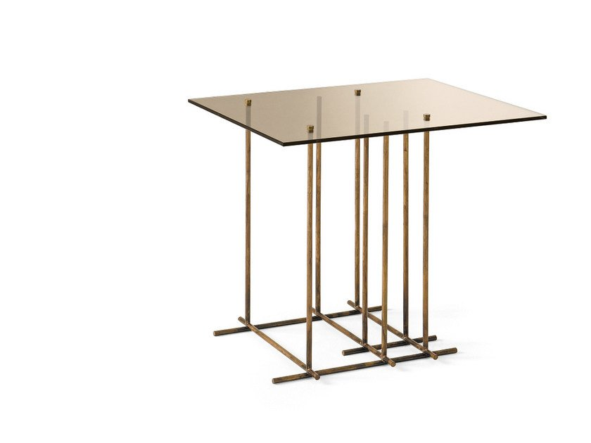 Rectangular crystal coffee table TETRIS | Rectangular coffee table by Gallotti&Radice