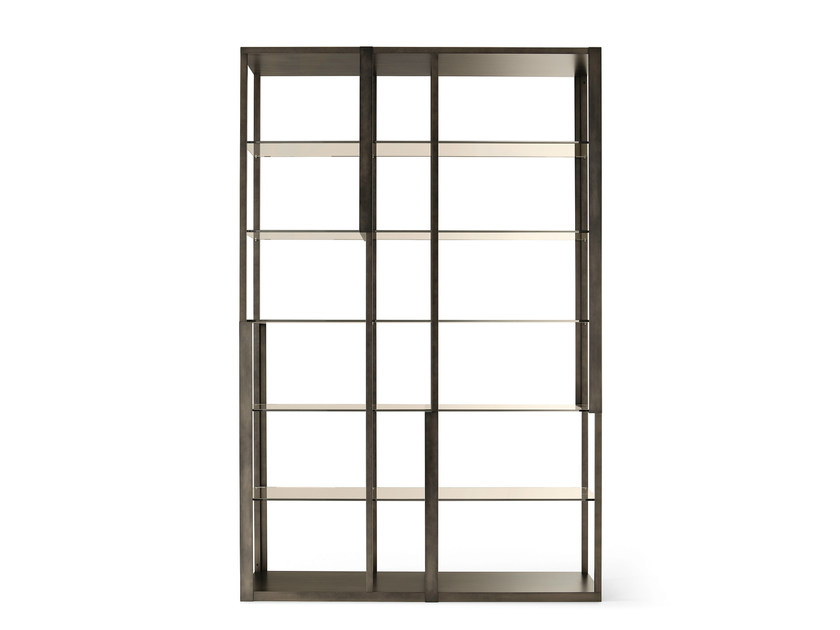 Open freestanding shelving unit TORTONA by Gallotti&Radice