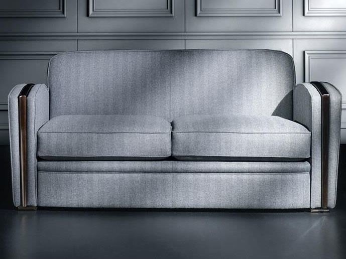 Sectional fabric sofa FLANELLE | Sofa by HUGUES CHEVALIER