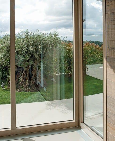 Exter glass design finestra scorrevole by de carlo - Finestre de carlo ...
