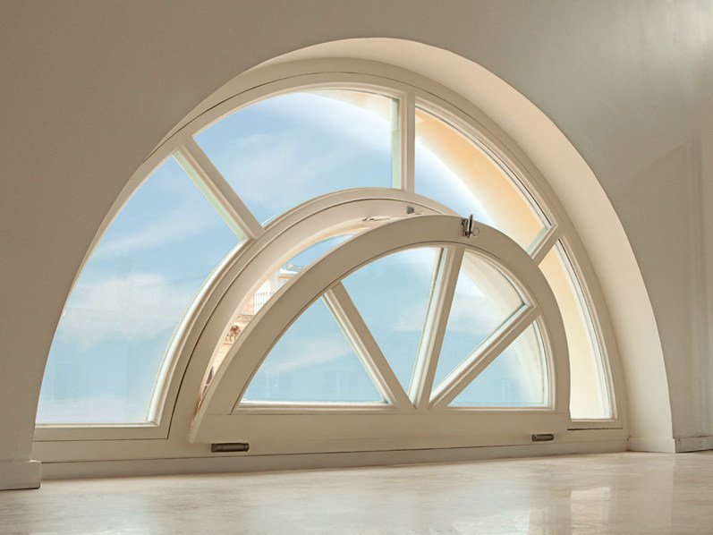 Wooden bottom-hung window LEGNO ARTE | Bottom-hung window by De Carlo