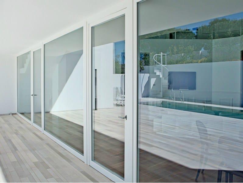 Wooden casement window LEGNO DESIGN | Casement window by De Carlo