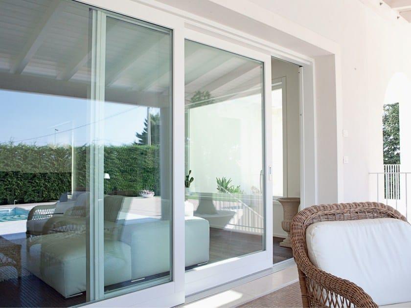 Wooden sliding window LEGNO DESIGN | Sliding window by De Carlo