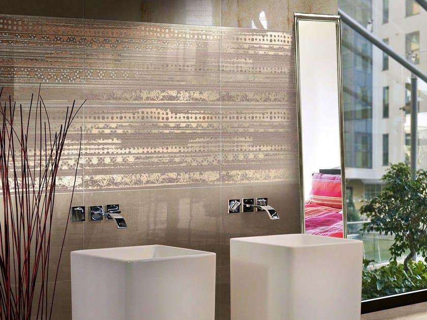 Ceramic wall tiles CONCRETE FLUID by CERAMICHE BRENNERO
