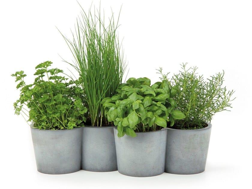 Cement plant pot POTPOT by KONSTANTIN SLAWINSKI