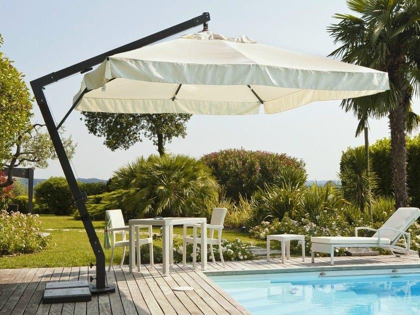 Offset Garden umbrella NEMI by Mediterraneo by GPB