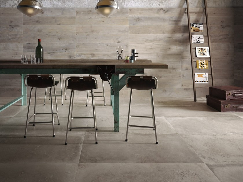 Porcelain stoneware wall/floor tiles BACKSTAGE by Flaviker