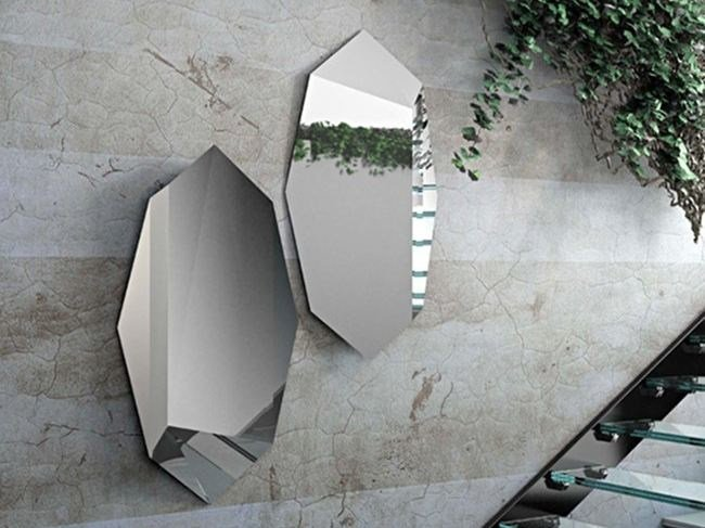 Wall-mounted mirror PRISMA by RIFLESSI