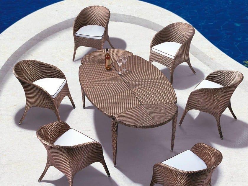 Oval garden table SYMI | Garden table by Mediterraneo by GPB
