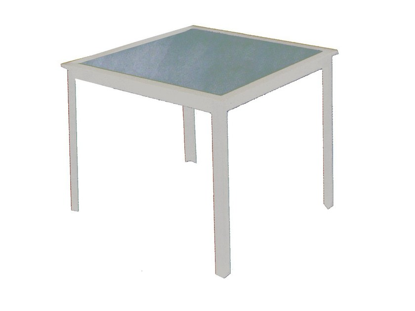 Square garden table ERICA | Garden table by Mediterraneo by GPB