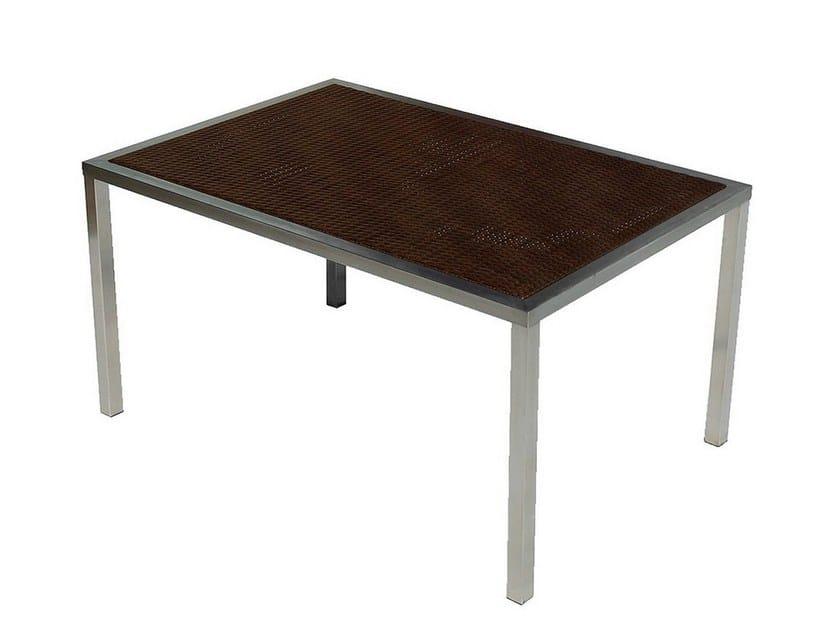 Rectangular garden table OSLO | Garden table by Mediterraneo by GPB