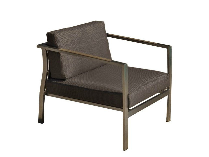 Garden armchair with armrests ARDAL | Garden armchair by Mediterraneo by GPB