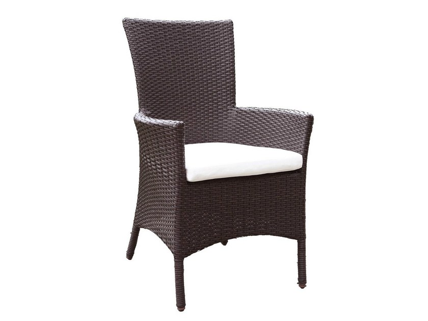 Garden easy chair with armrests ALASSIO   Garden easy chair by Mediterraneo by GPB