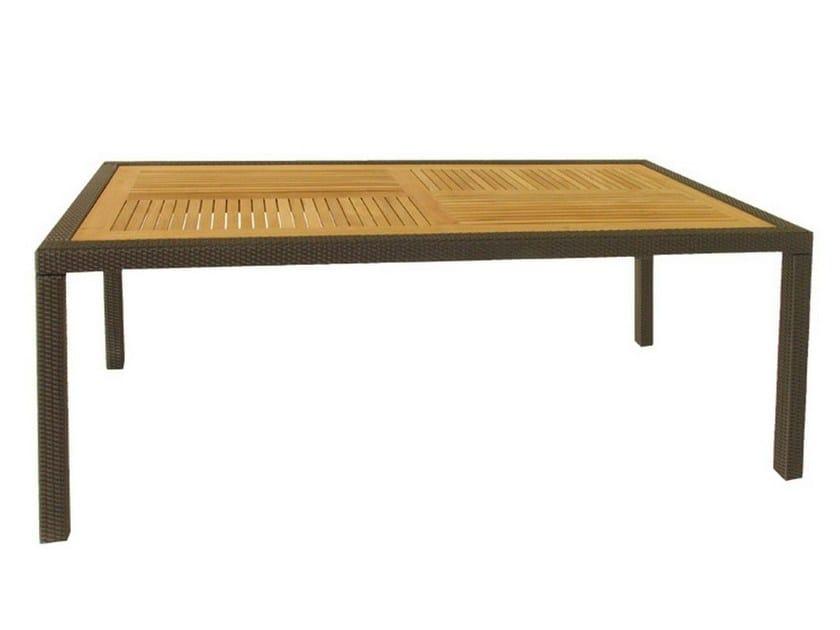 Rectangular garden table ALASSIO | Rectangular table by Mediterraneo by GPB