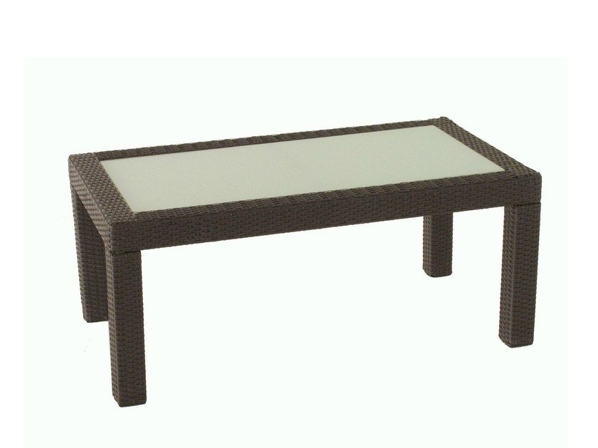 Rectangular garden side table ALASSIO | Garden side table by Mediterraneo by GPB