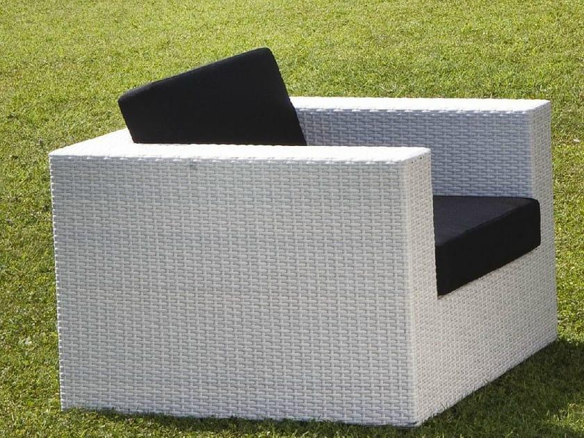 Garden armchair with armrests RODI | Garden armchair by Mediterraneo by GPB