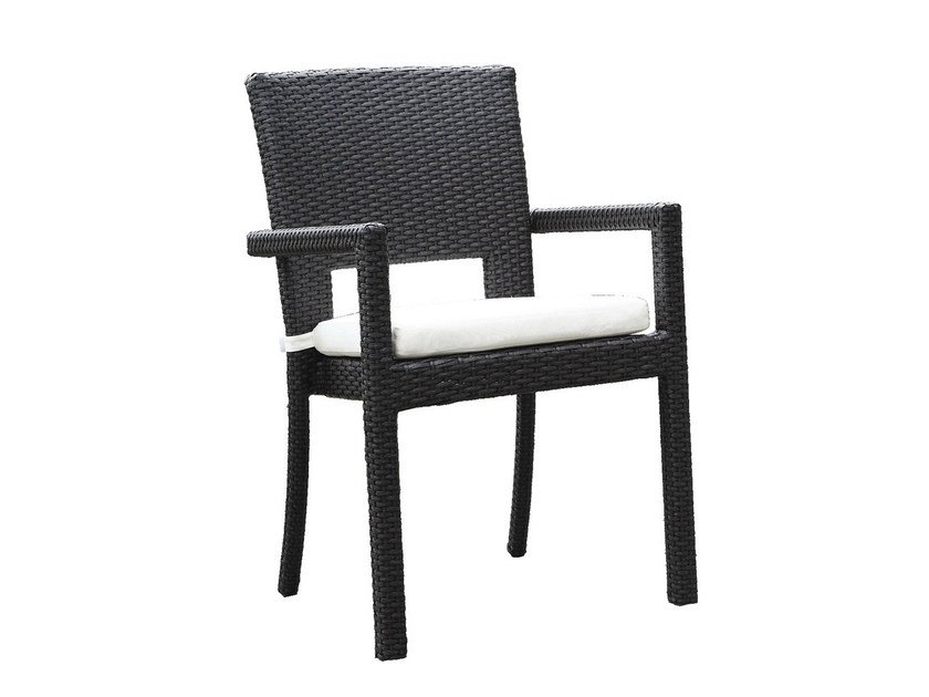 Garden chair with armrests RODI | Chair with armrests by Mediterraneo by GPB