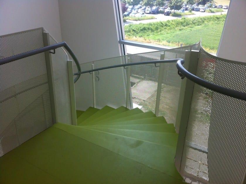 Aluminium Stair railing GRANAROLO by ALUSCALAE