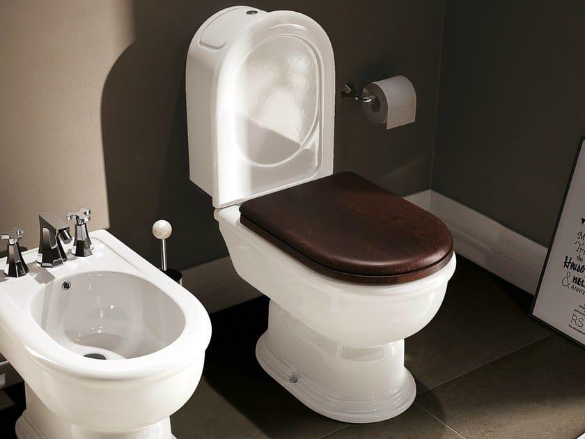 Close coupled ceramic toilet FIDIA | Close coupled toilet by CERAMICA FLAMINIA