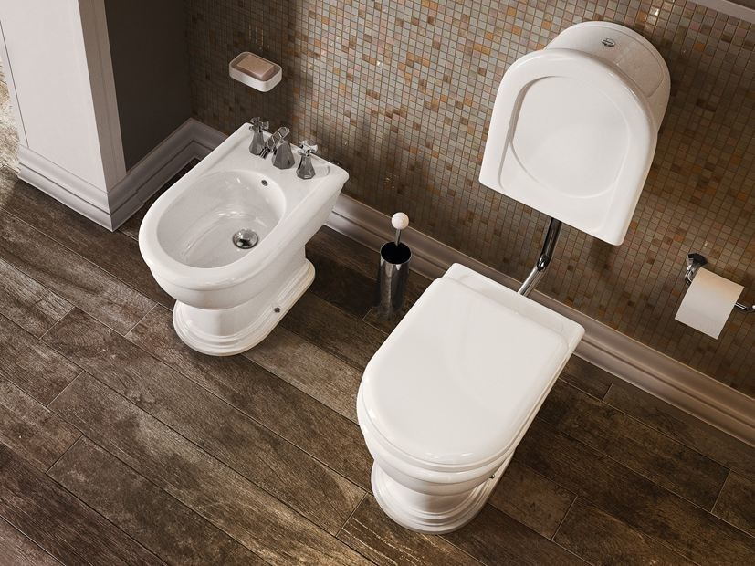Ceramic toilet with external cistern FIDIA | Toilet with external cistern by CERAMICA FLAMINIA