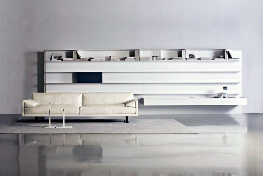 HI-MACS® - Design di mobili Goldeneye - Design: Bruno Fattorini & Partners - Manufacturer: Gruppo Industriale Busnelli Spa - Material: HI-MACS® Alpine white - Photographer: Studio Eye