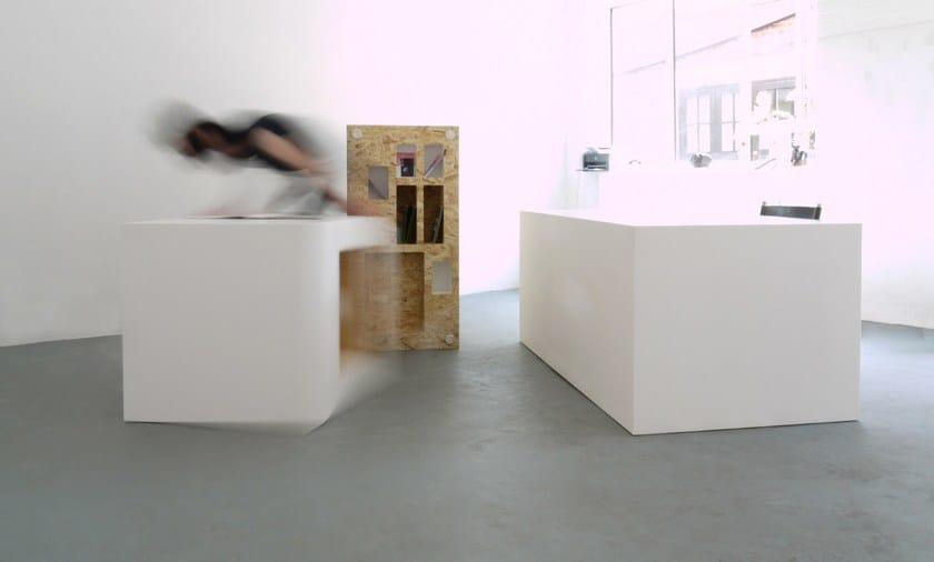 HI-MACS® - Design di mobili Bloc Projects Furniture - Design by Studio Polpo