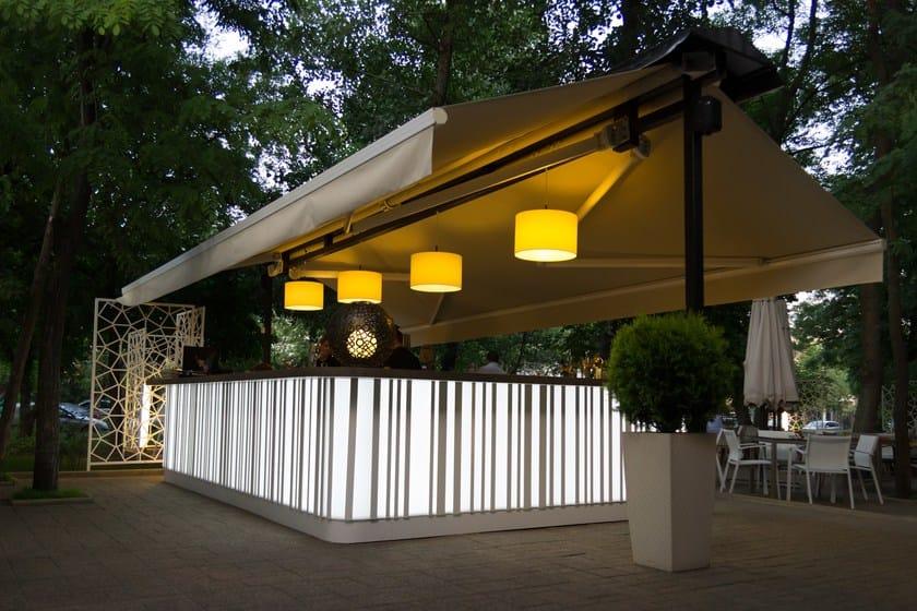 HI-MACS® - Hotel & Ristoranti Quattro Stagioni - Design Cristina Popescu - Fabricator: Atvangarde Surfaces - Photo Credits: Alexei Tacu