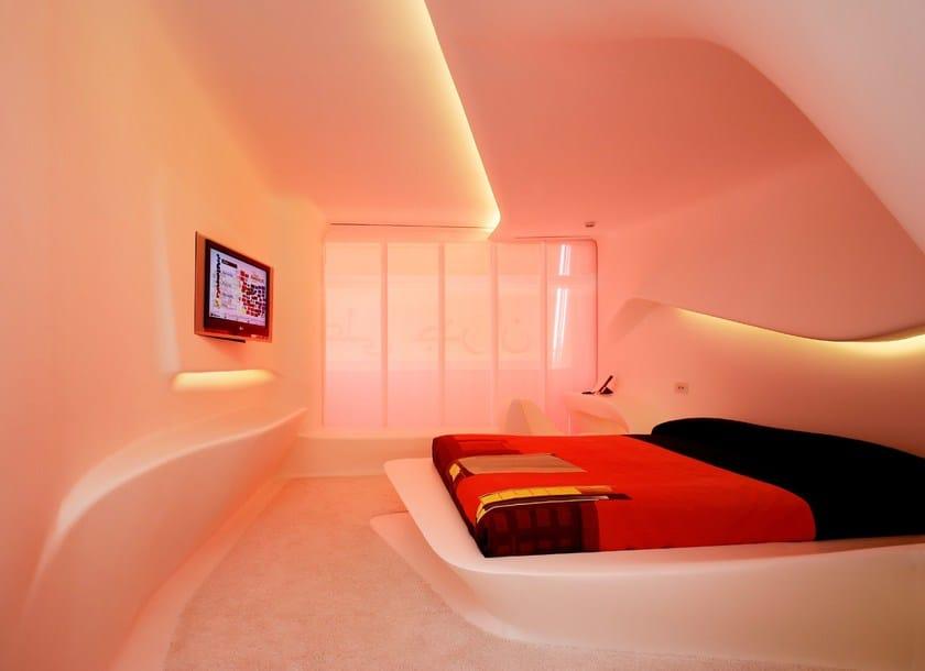 HI-MACS® - Hotel & Ristoranti Hotel Puerta America - Design Zaha Hadid