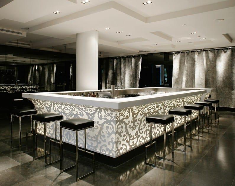 HI-MACS® - Hotel & Ristoranti Hotel Silken Puerta America - Design Christian Liaigre - Photo Credits: Rafael Vargas