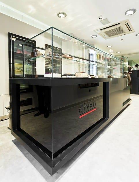 HI-MACS® - Allestimento di negozi Divan Patisserie Turkey