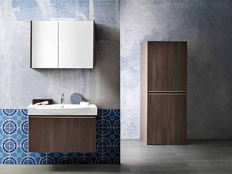 Sectional vanity unit MOVIDA 34/37 by Cerasa