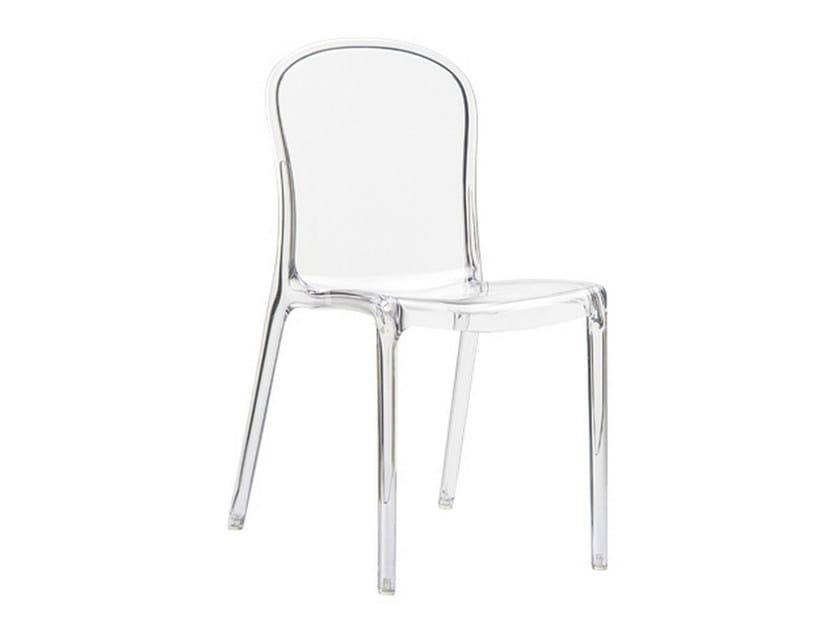 Stackable garden chair VICTORIA by Mediterraneo by GPB