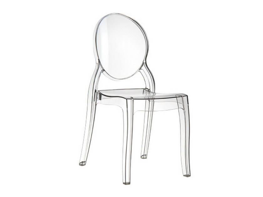Stackable garden chair ELIZABETH by Mediterraneo by GPB