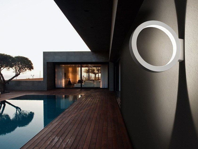 LED wall lamp ASSOLO OUTDOOR by Cini&Nils