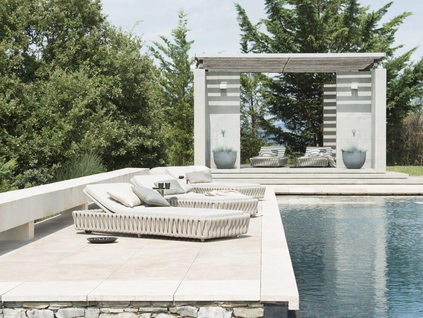 TOSCA | Lettino da giardino
