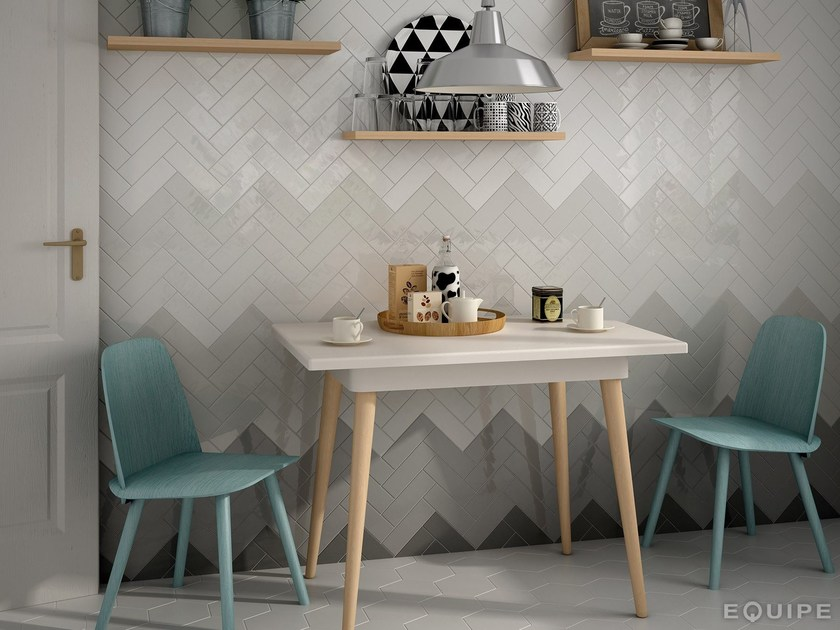 Indoor white-paste wall tiles COUNTRY by EQUIPE CERAMICAS