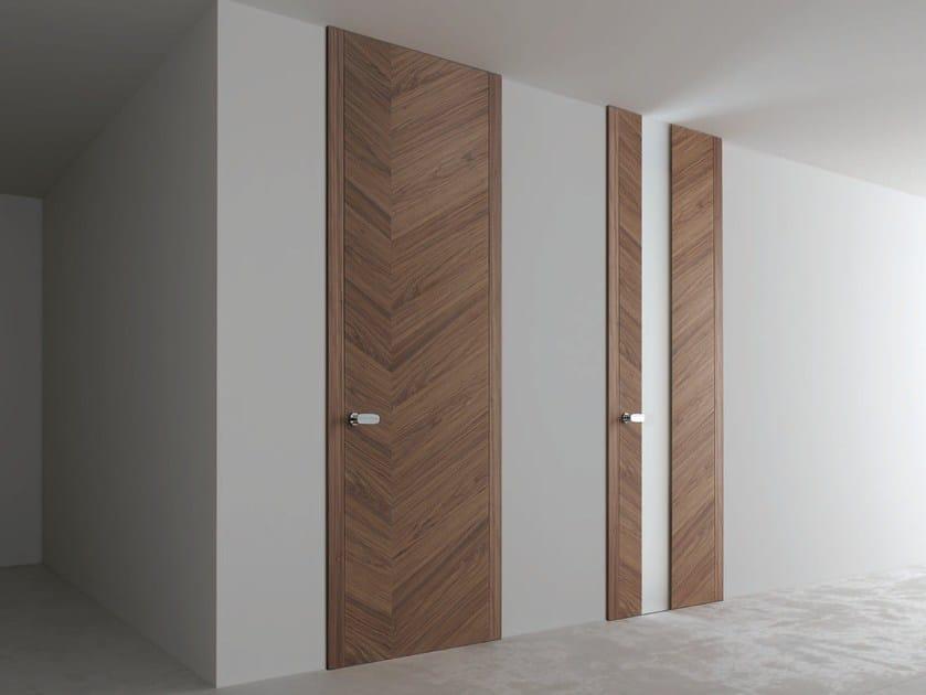 Hinged wooden door TOKYO by Ghizzi & Benatti
