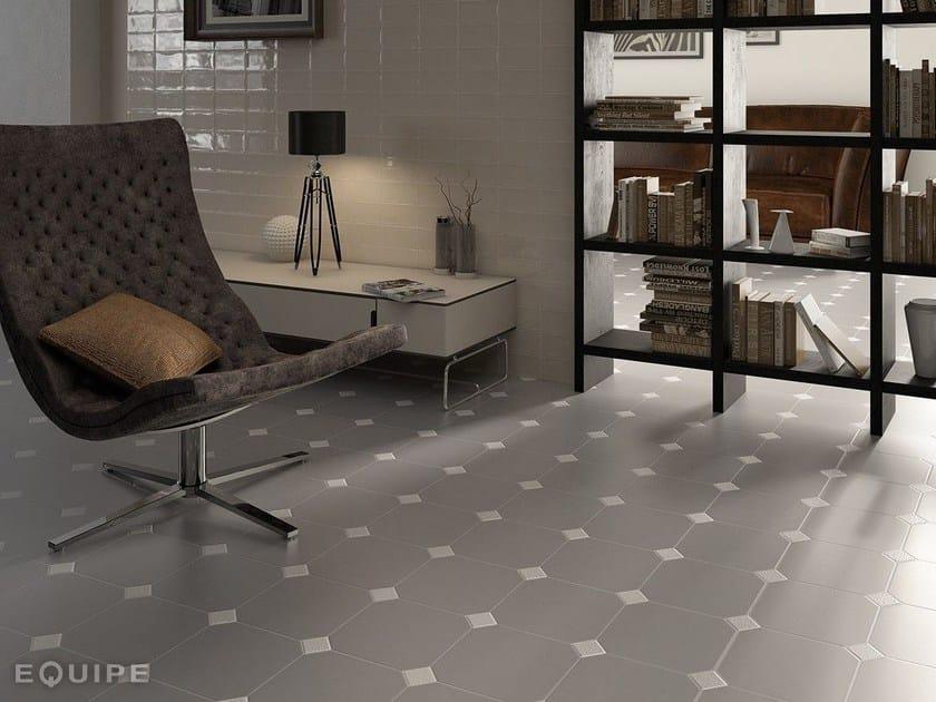 Indoor/outdoor porcelain stoneware flooring OCTAGON   Flooring by EQUIPE CERAMICAS