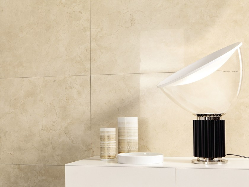 Porcelain stoneware wall/floor tiles with marble effect ANIMA MARFIL by Ceramiche Caesar
