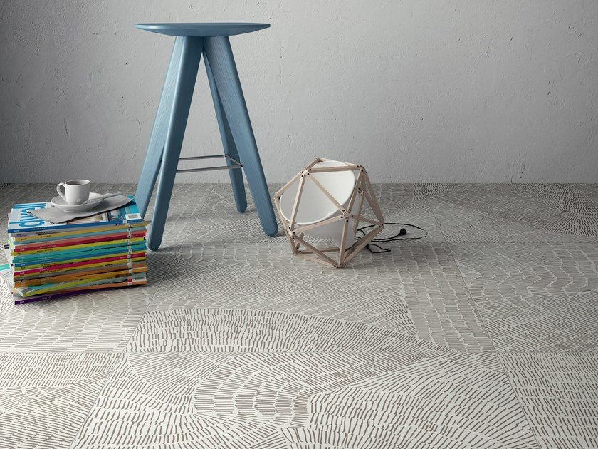 Ceramic materials flooring FOSSIL by Ceramiche Refin