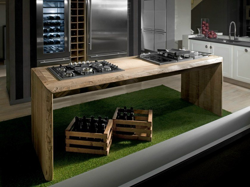 Ash kitchen ONE WORK STATION by L'Ottocento