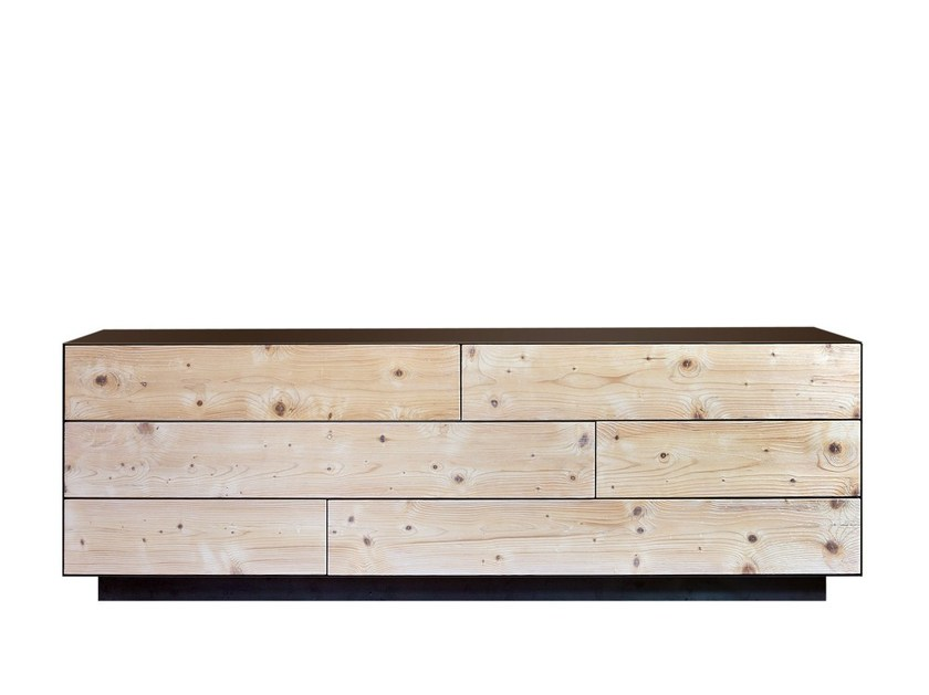 Multi-layer wood chest of drawers CP LAB DESIGN   Chest of drawers by CP Parquet