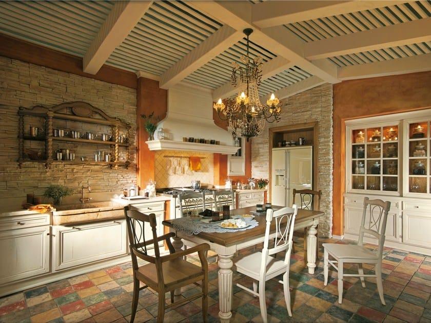 Nach Mass Küche aus Eichenholz MONTEREY COUNTRY By L\'Ottocento