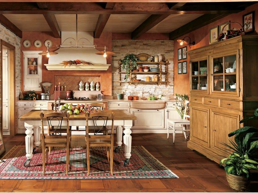 Cucina su misura in rovere MONTEREY COUNTRY By L\'Ottocento